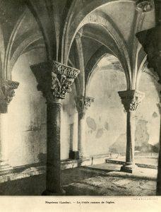 La crypte de Saint-Girons