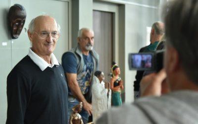 Pierrot Marsan expose à la médiathèque de Hagetmau