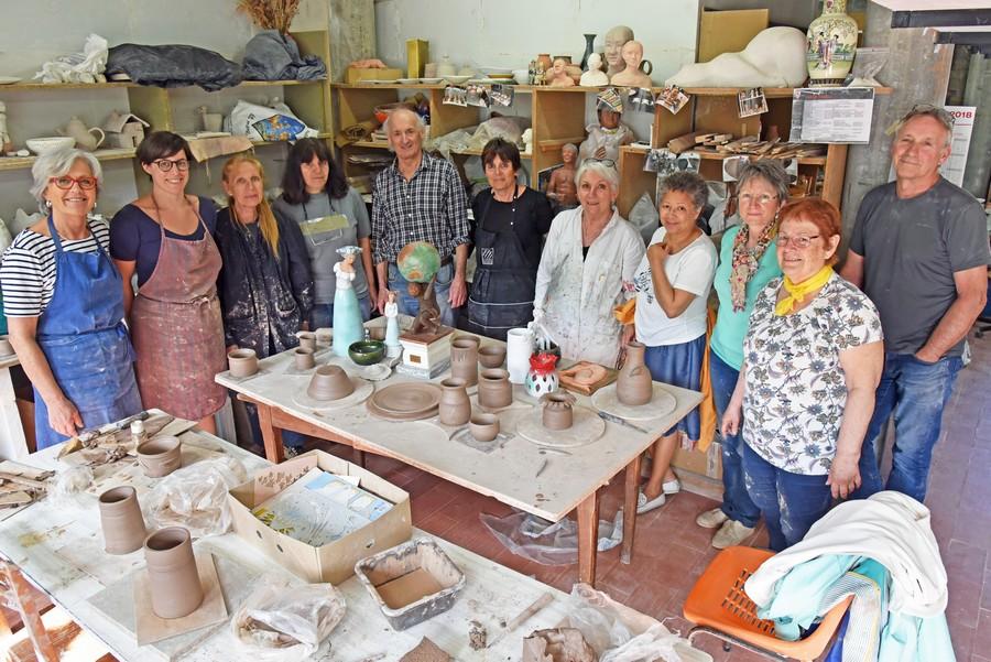 Stage de Printemps à l'atelier poterie