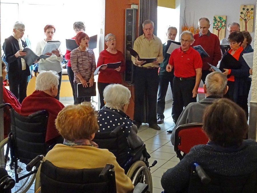 Un après-midi chantant pour nos anciens