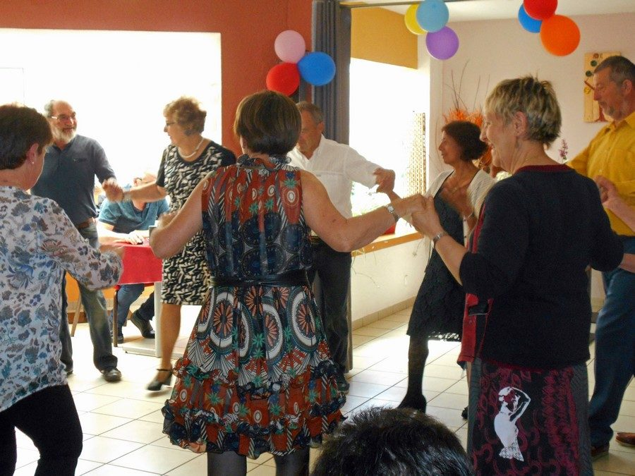 Après-midi dansant à l'EHPAD