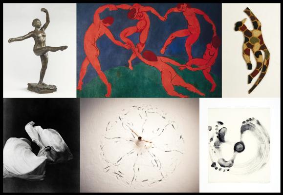 Comment la danse est-elle représentée dans l'art? Vous le saurez samedi 16 novembre à 17h.