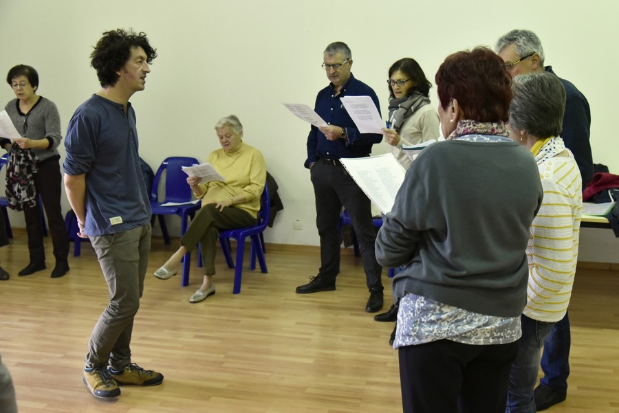 Répétition de cantère pour la Passem
